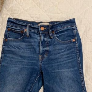 Madewell Skinny Jeans. Size 25